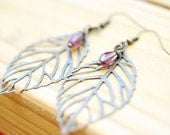 The Natalie earring-lilac