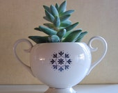 SALE - Vintage Flintridge Sugar Bowl California China