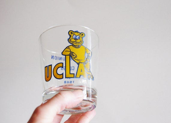 Vintage UCLA College Reunion Collectible Glass