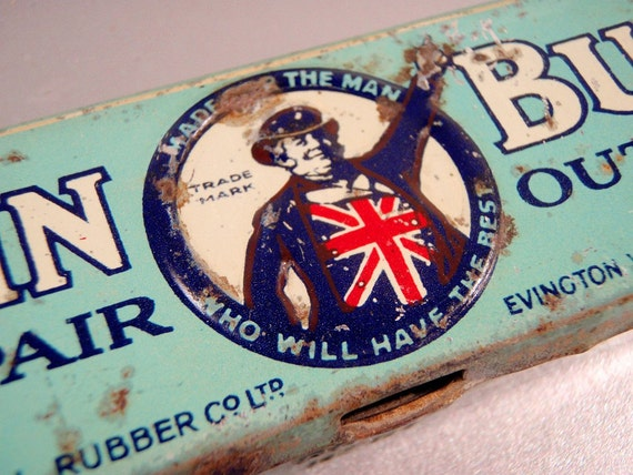 John Bull Advertising Tin from England