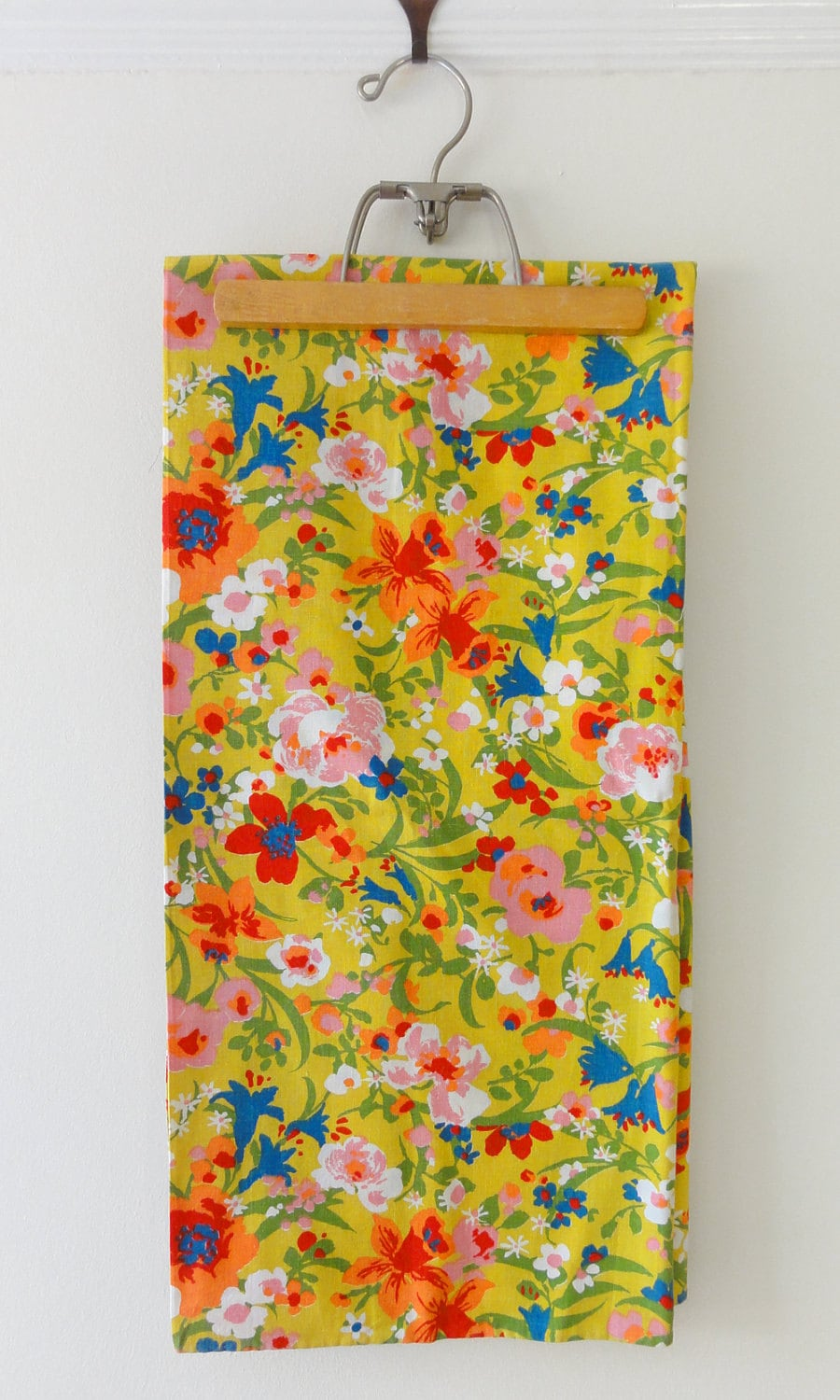 Mid Century Mod Floral Fabric By Chixycoco On Etsy