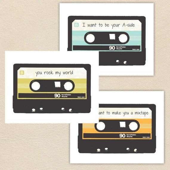Mixtape Card Set