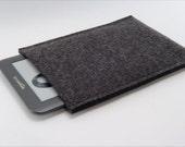 Kindle 3 (Graphite) German Charcoal Wool Felt Sleeve