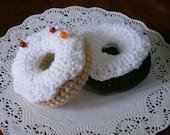 Doughnut Pin Cushion with Vanilla Icing