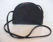 Vintage Coach Blue Leather Purse