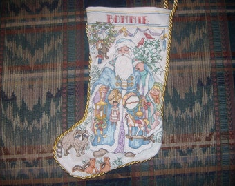 Old Fasioned Hand-Made Stocking