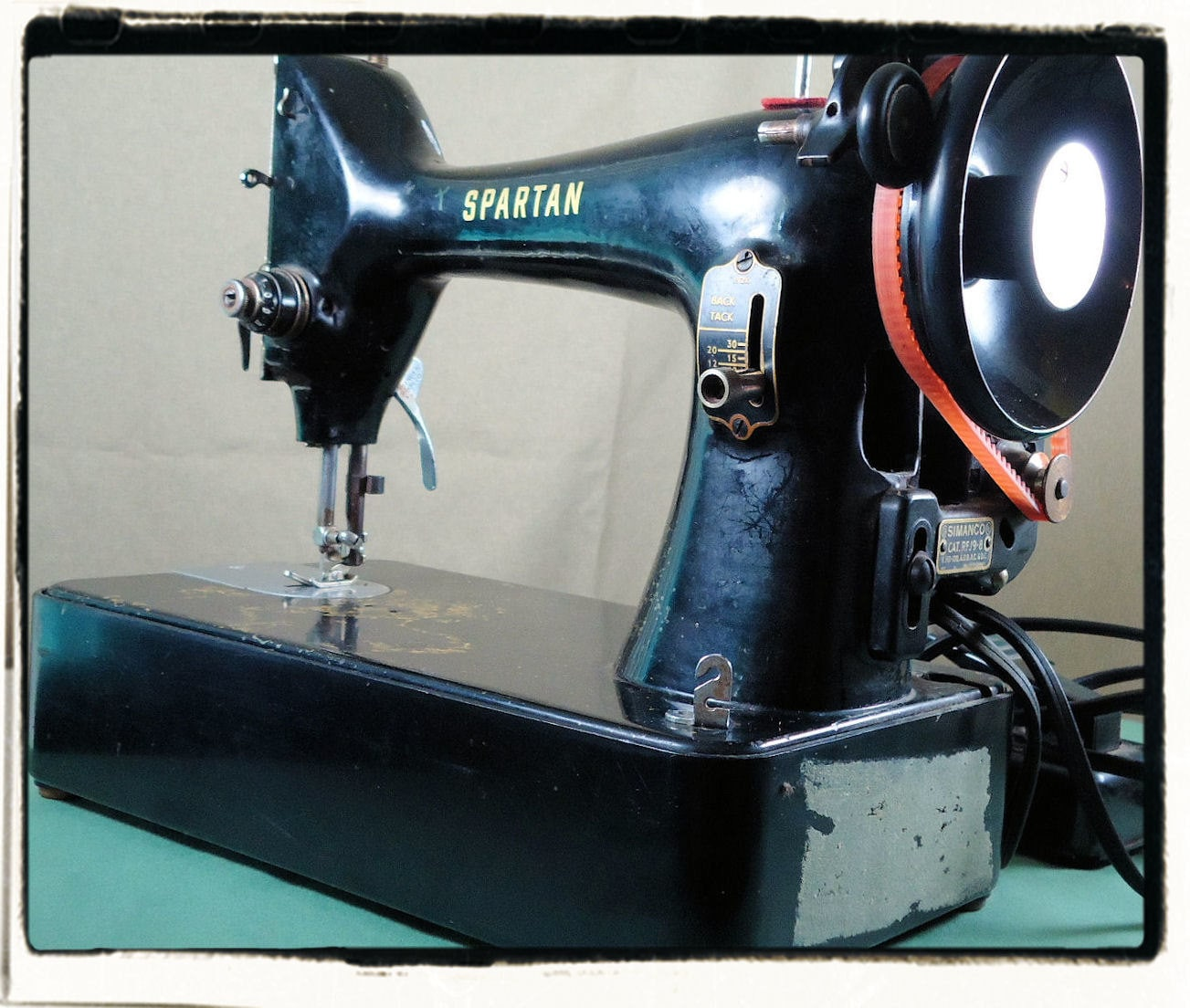 portable singer sewing machine antique