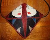 RESERVE for Sharon-Vintage 1980's Designer Handbag by Mille Fiori