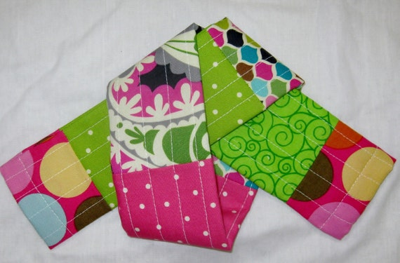 Quilted Camera Strap Cover Slipcover with Extra Padding