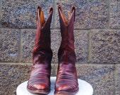 Rare Reddish Cordovan Boot sz. 9