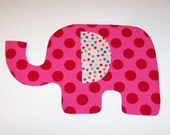 Iron On Fabric Applique ANIMAL CRACKER ELEPHANT