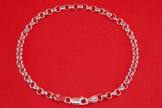 Solid Sterling Silver Bracelet 7.5 in