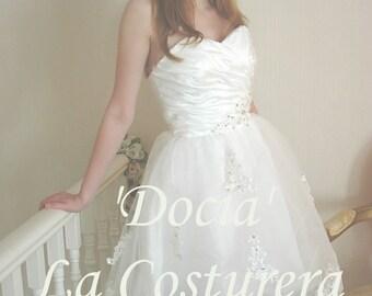 Docia - Handmade Custom Wedding Reception Dress