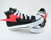 Superhero Shoes- Red Lightning