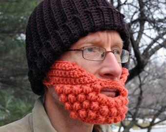 Beard for a Beanie Hat, Adult Medium, Goldfish