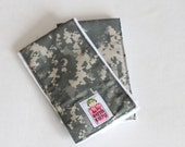 Army ACU Burp Cloths - set of 2