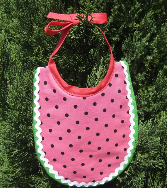 Baby Bib Juicy Watermelon