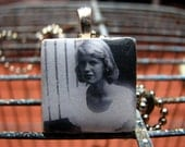 the bell jar ceramic tile pendant