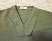 1940s-50s Green Sweater
