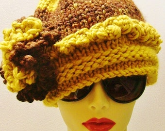 SALE   Carmel Chocolate Fudge Brown Hat