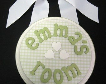 Personalized  Baby Name Door/Wall Hanging