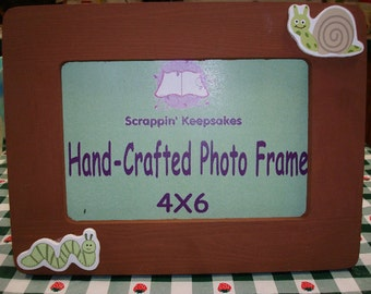 Critters 4x6 Picture Frame