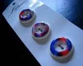 Vintage Lansing Buttons