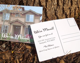 Just Moved Change of Address Postcards - Set of 10