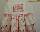 Pinafore Apron Dress - Fairies and Flowers