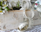 Paper Chain ,Party Garland,Vintage Sheet Music Paper kit