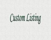 Custom listing for tashiewashie79