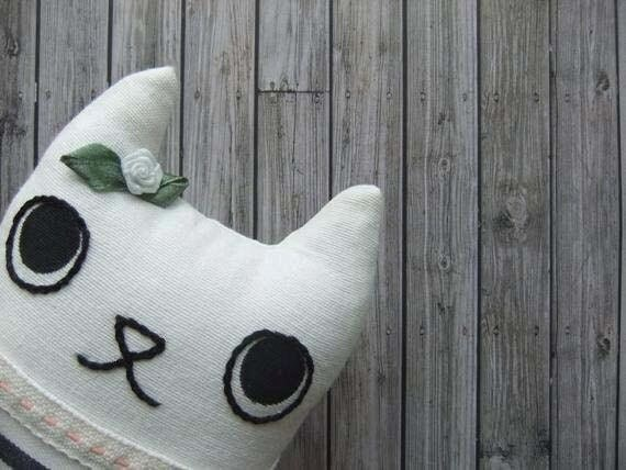 Sailor Animal Girl softie doll - RESERVED for K