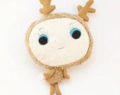 Woodland deer - soft plush toy, cuddle toy, Bambi