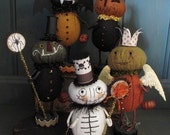 Trick or Treaters  KIT  Make all 5 for Halloween  by cheswickcompany