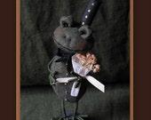 Patrick the Dapper Frog E-PATTERN by cheswickcompany