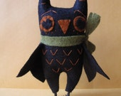 Harvest Owl Ornament E-PATTERN by cheswickcompany