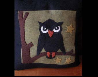 Hoot Owl Pillow KIT by cheswickcompany