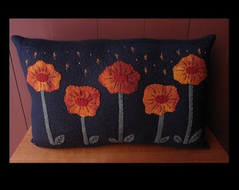 Poppies at Night Pillow KIT by cheswickcompany