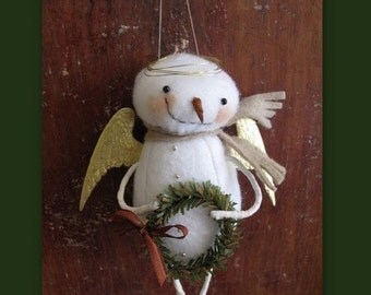 Snow Angel Ornament KIT by cheswickcompany