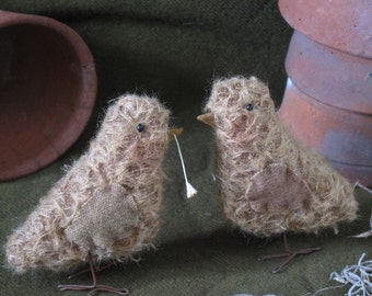 Mohair Spring Chicks KIT Easter by cheswickcompany