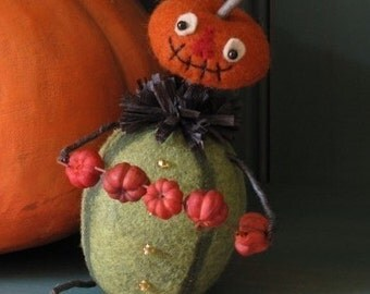 Halloween Peter Pumpkin Eater E-PATTERN by cheswickcompany