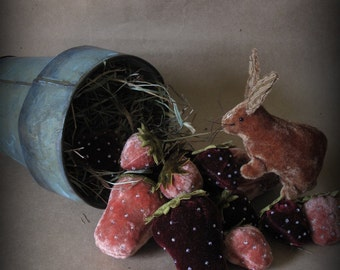 A Berry Delightful Bunny E-PATTERN by cheswickcompany