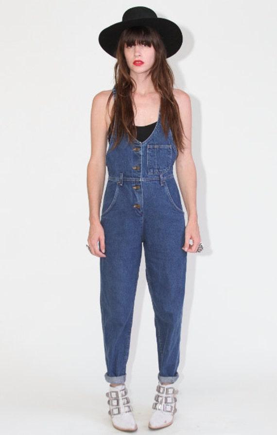 70's Denim overalls