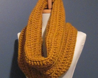 A Beautiful Golden yellow Scarf cowl neckwrap neck warmer