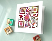 You are the best - Mother's Day card - gadgets for her - QR Code Art
