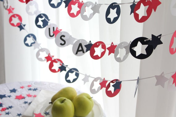 4th of July Star Spangled Red White and Blue Party Pack