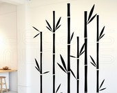 Wall decals GEOMETRIC BAMBOO Wall stickers - Vinyl decor by Decals Murals (Large)