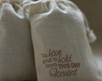 muslin favor bags TO HavE N HoLd x20 muslin wedding favor bags, gift bags for goodies