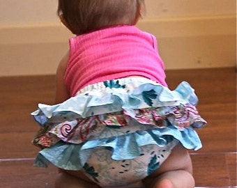 Baby BLOOMERS PATTERN frilly pants Instant download PDF sewing tutorial boys girls Newborn to 18 months