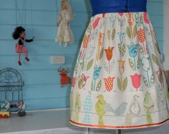 Girls skirt sewing pattern tutorial easy quick pdf email